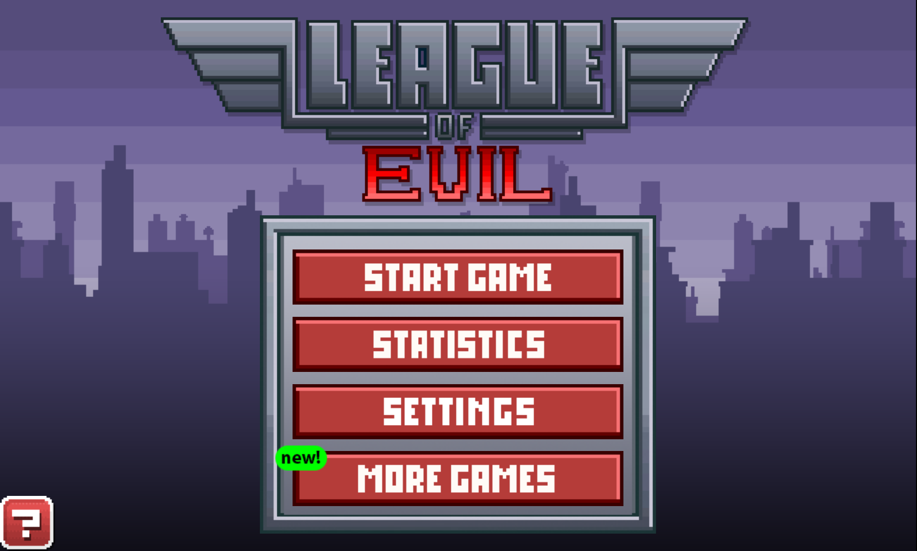 League of Evil: Gore Pixelado