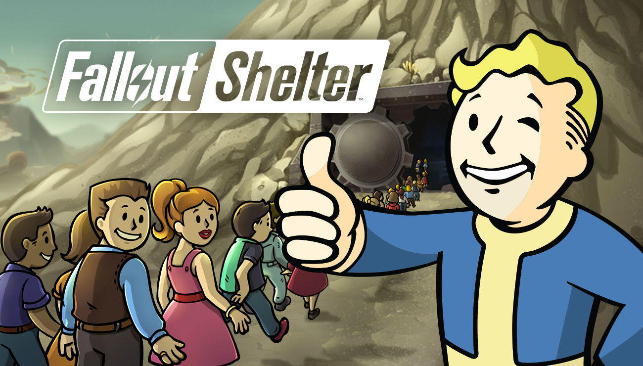 fallout-shelter main screen