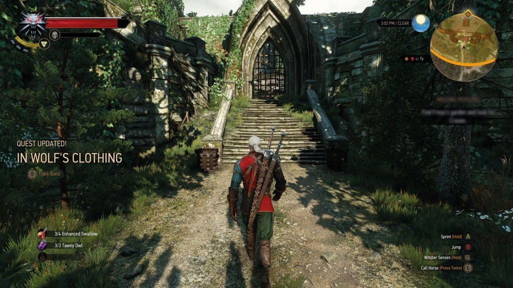 The Witcher III: Wild Hunt. Caminito de Jerez.