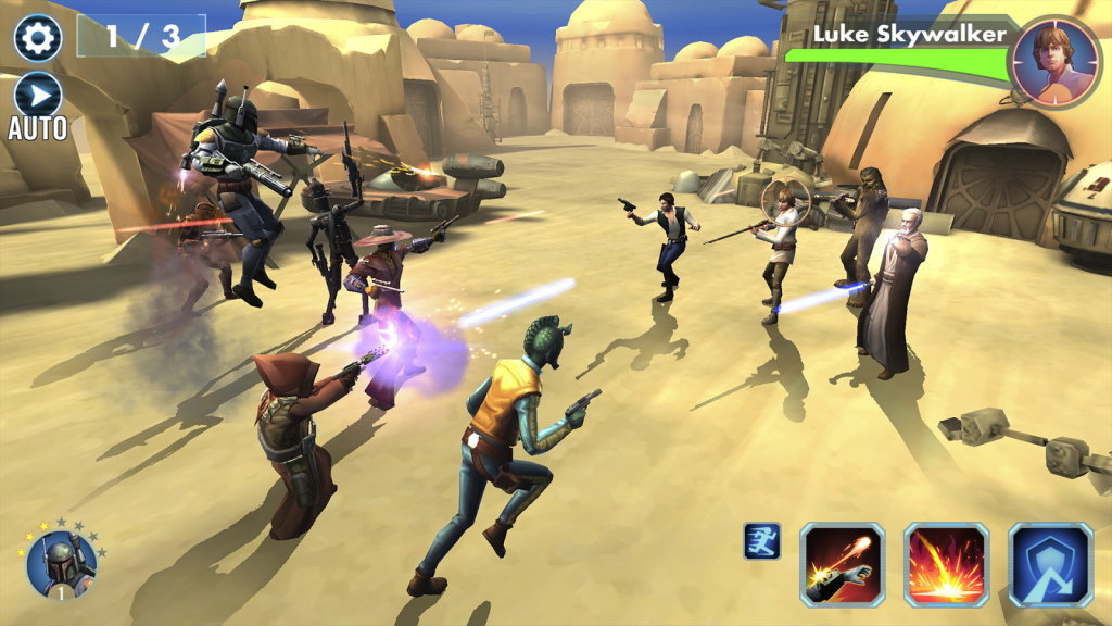 Star Wars: Galaxy of Heroes - Ataque catapulta Infernal!!!!!