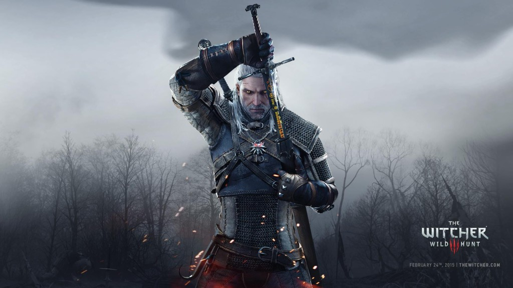 The Witcher III: Wild Hunt. Geralt de Rivia.