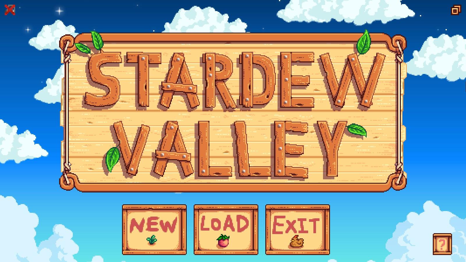 Stardew Valley - Inicio