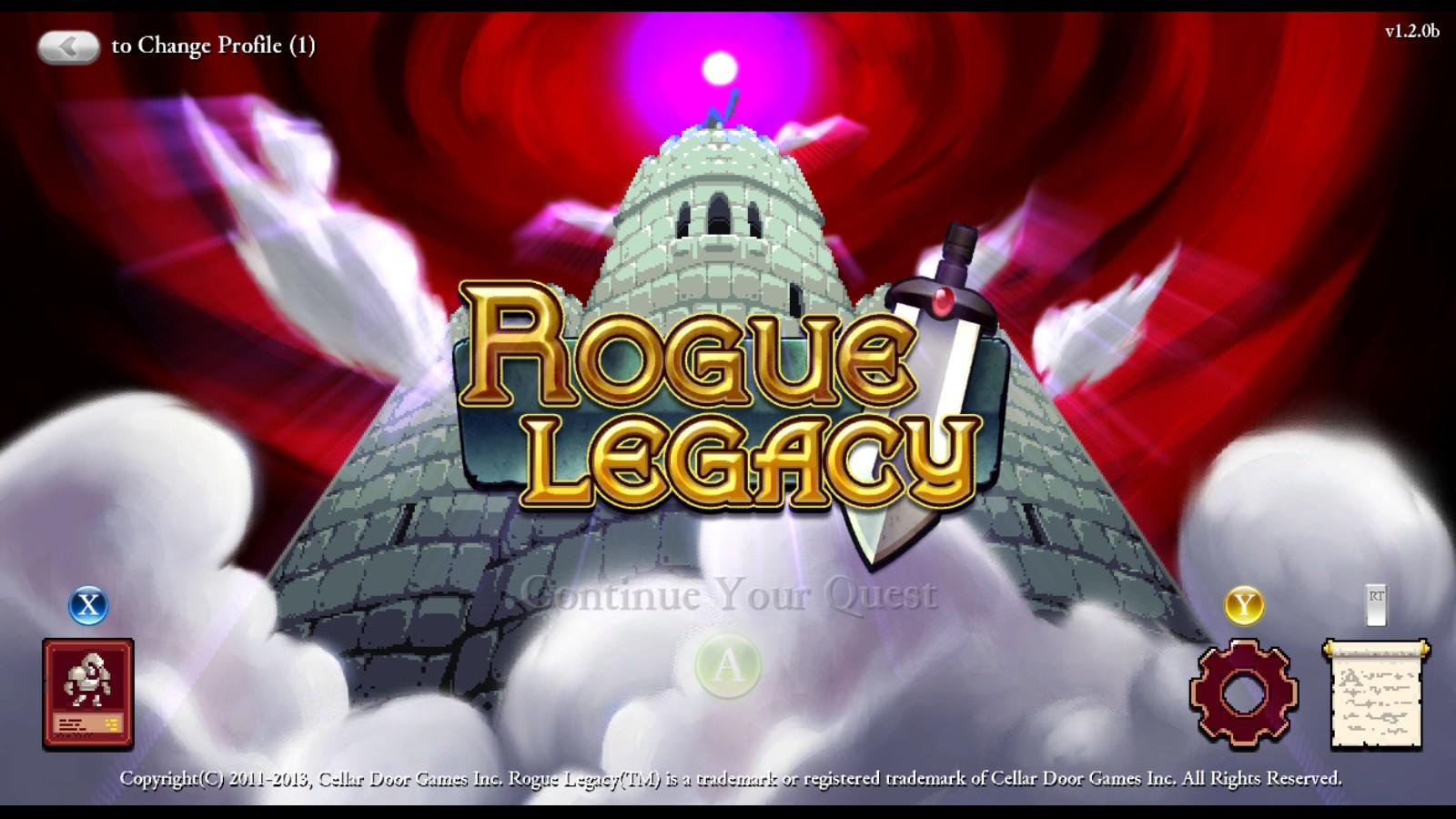Rogue Legacy. El legado de la bárbara lesbiana con gigantismo, miope y disléxica