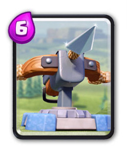 Clash royale gu a de cartas hechizos y estructuras for Clash royale deck arc x
