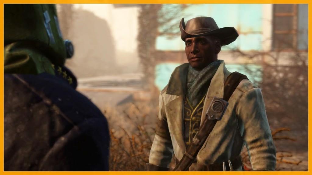 Garvey: Otro asentamiento necesita tu ayuda. Prota: Amos, no me jodas, tú estás de cachondeo, rico. ¿Qué te crees? ¿Qué no tengo otras cosas que hacer?