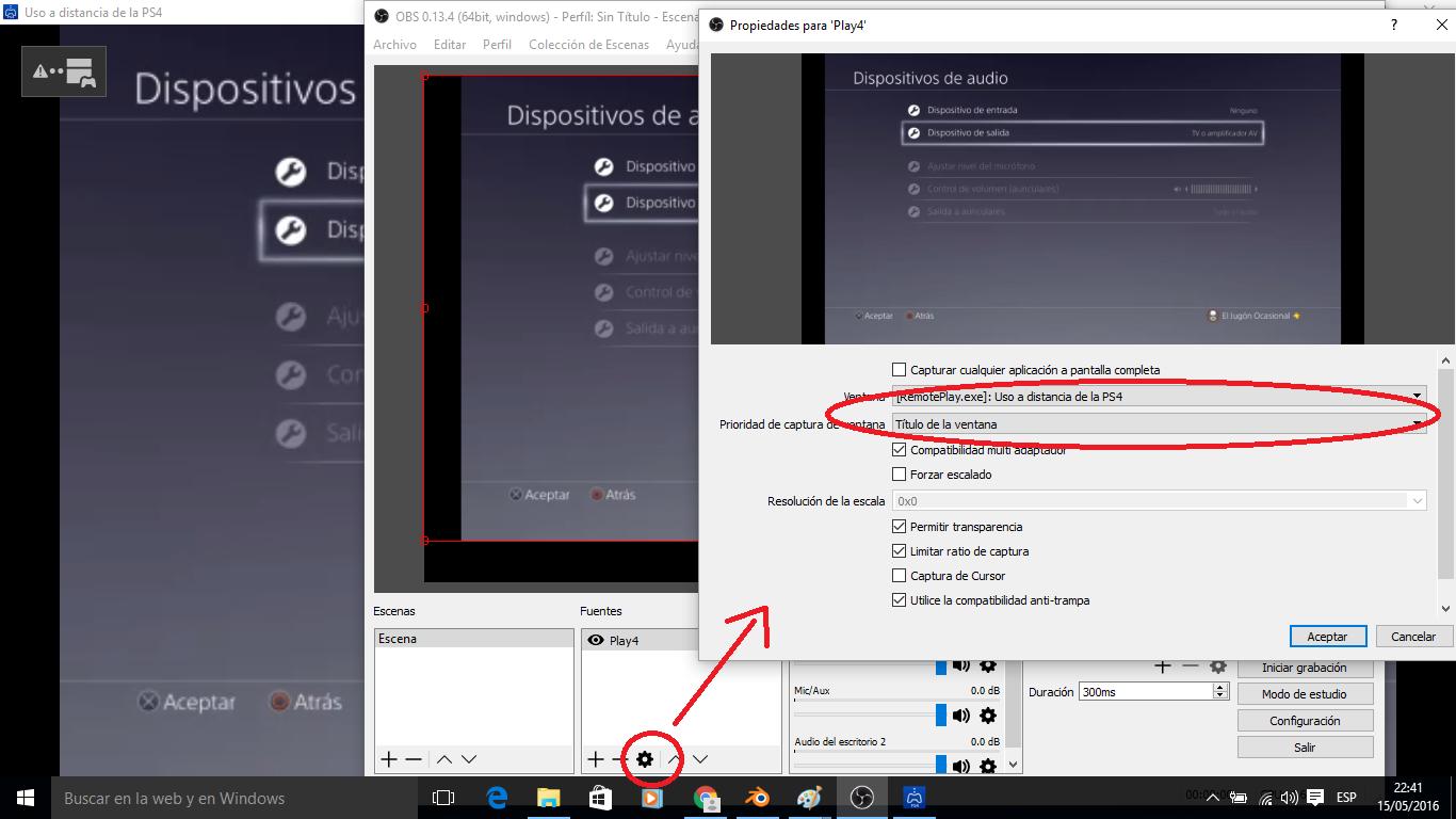 Configurar fotos en streaming en pc 8