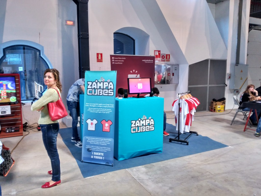 PlayGame Puertollano: Zampa cubes