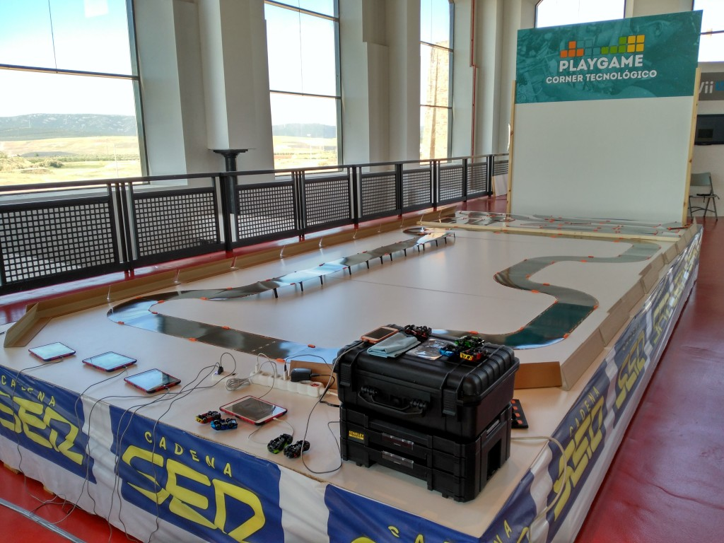 PlayGame Puertollano: Circuito coches