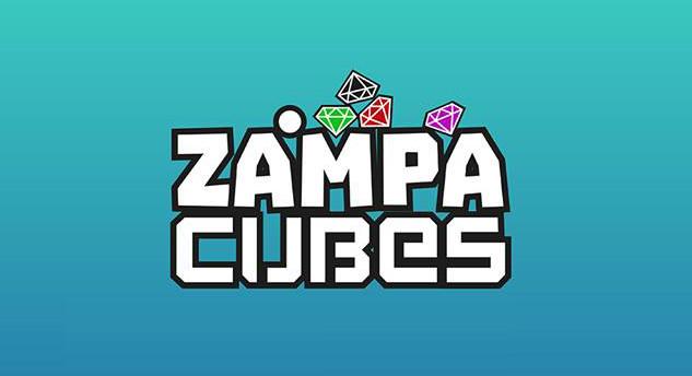 Zampa cubes Logo