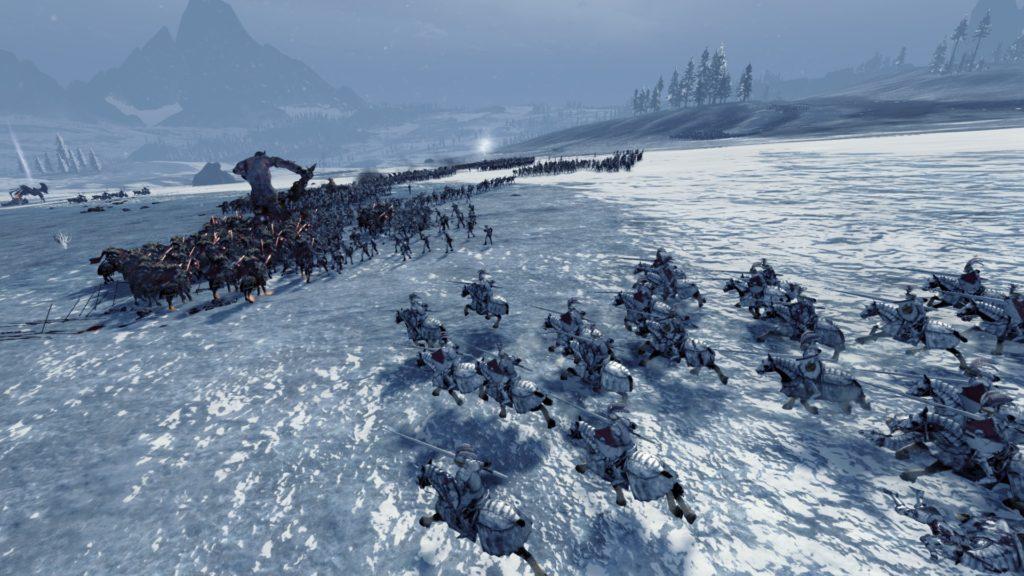 TW:Warhammer Carga de caballería