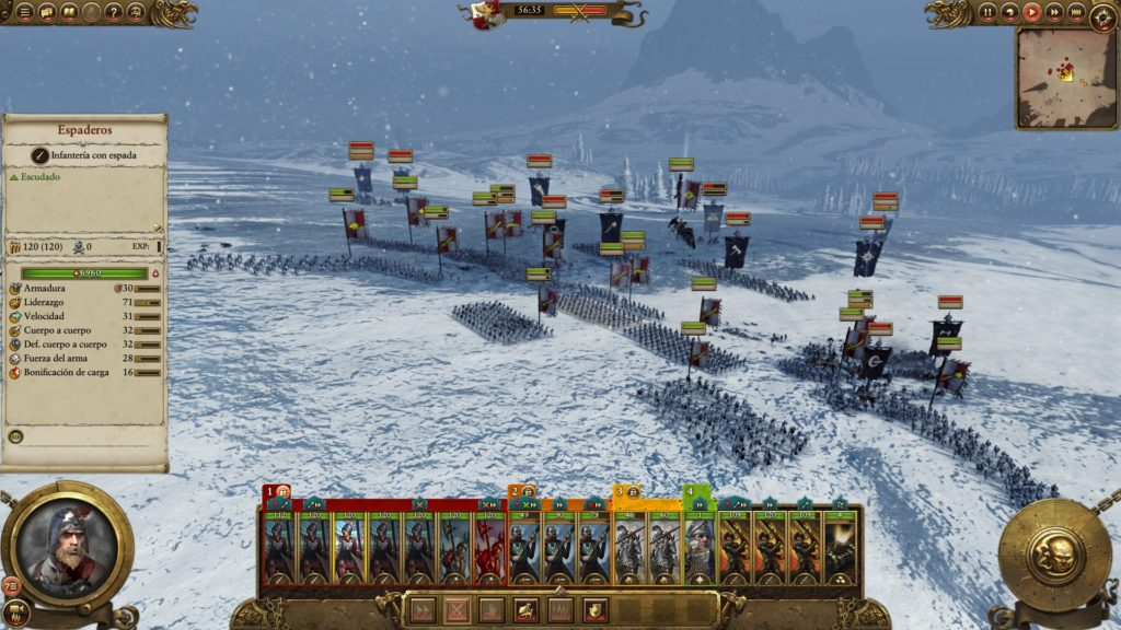 Combate Imperio vs Caos