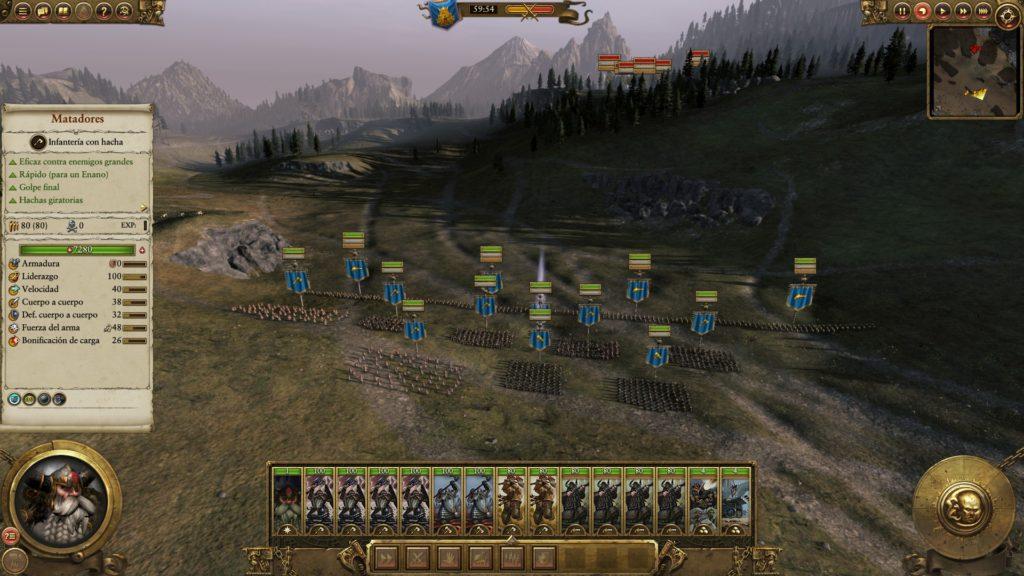 Total War: WARHAMMER - Enanos listos para vengar agravios